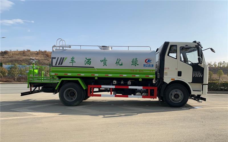 国六解放J6洒水车|15吨洒水车|价格|配置图片