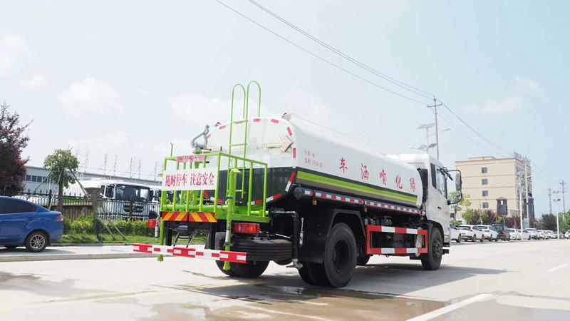 国六高端东风天锦洒水车 15吨洒水车 价格 图片 配置
